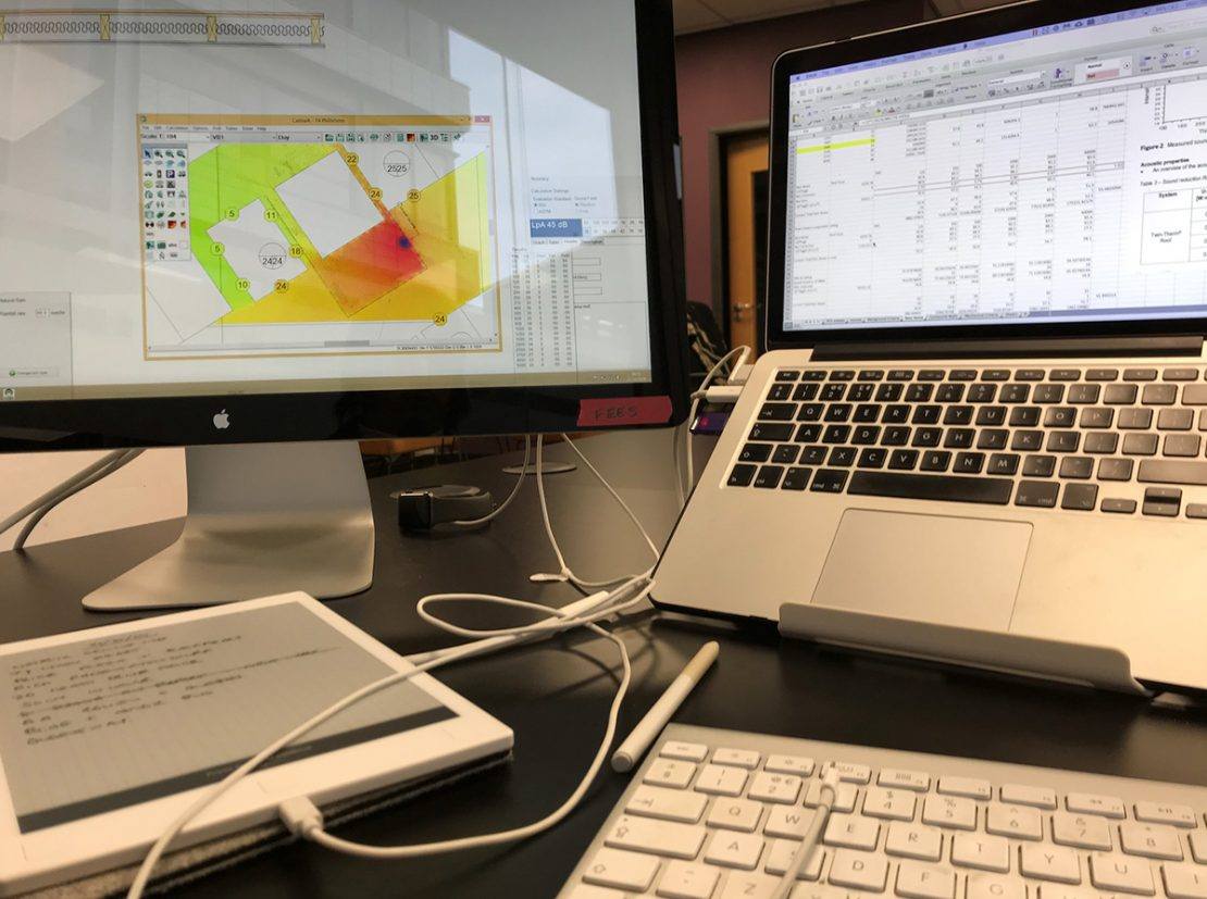 A day in the life of an Acoustics Consultant